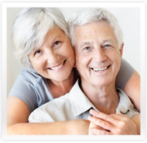 couple de retraités heureux